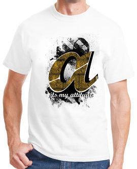 A Alphabet T-shirt For Men