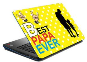 best papa laptop skin